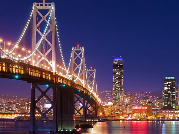 【泰州】长江大桥高光好LED点光源亮化工程