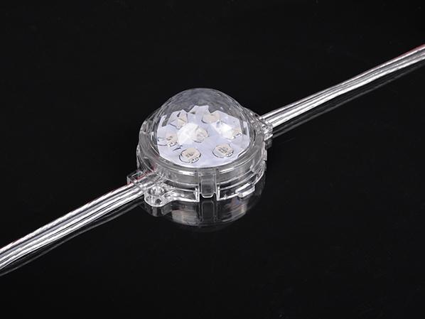LED点光源(5公分RGB水晶罩点光源)