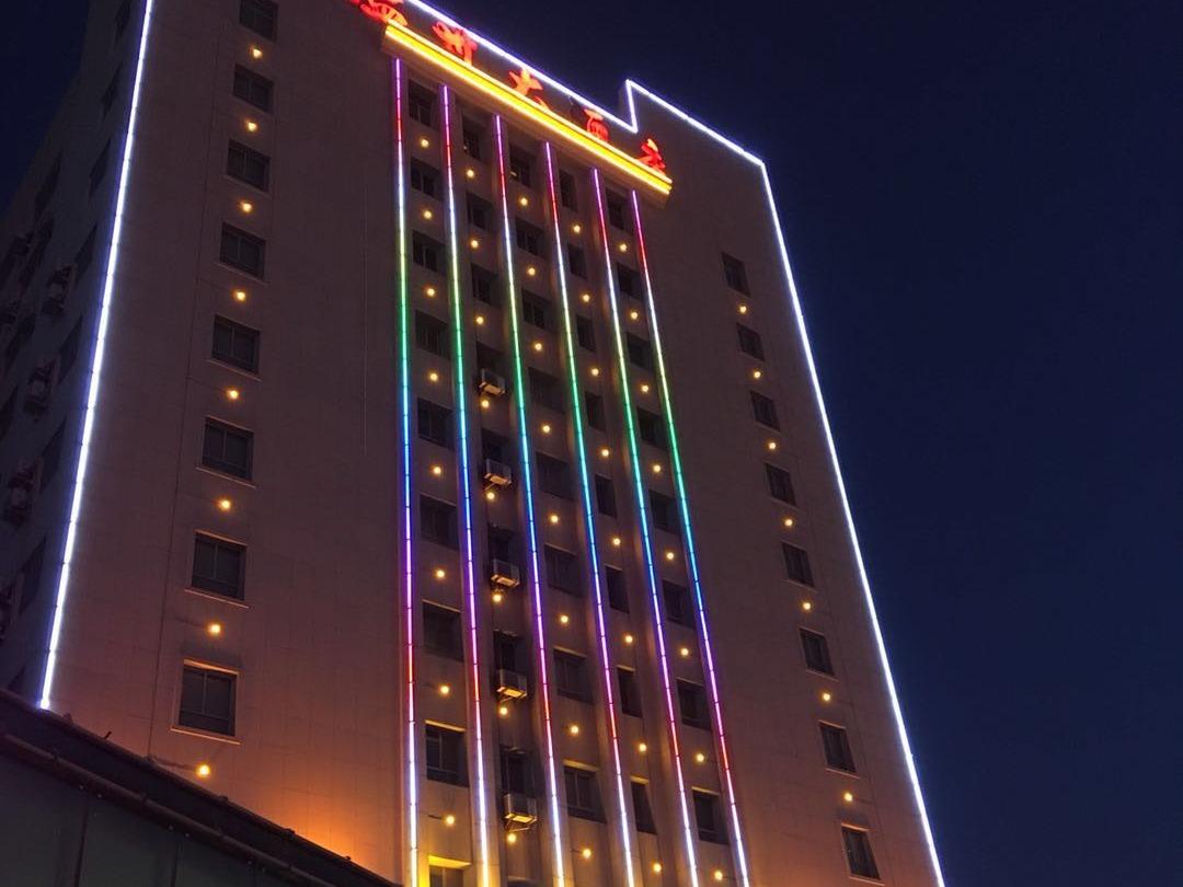 新疆酒店外墙项目
